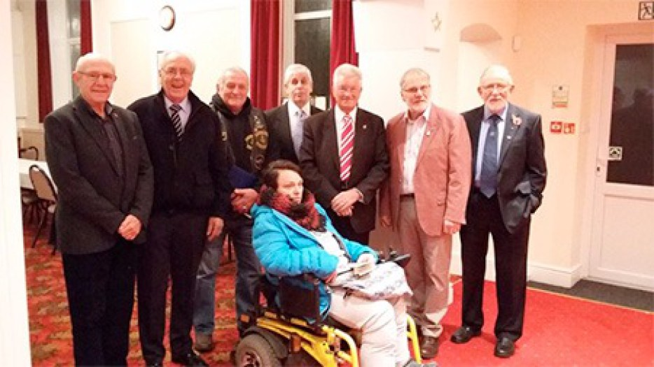 Exmouth Freemasons -Assistance for New Wheelchair