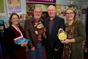 Freemasons help Exmouth library refurbish Childrens Area - December 2017