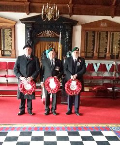 Exmouth Lodges Remembrance Day 2017