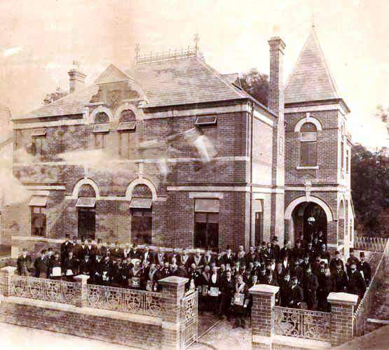 Opening of Exmouth Masonic Hall 8th Sept 1894