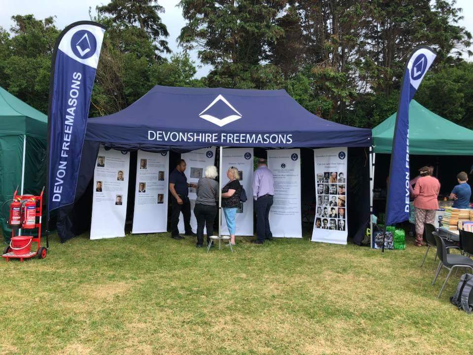 Exmouth Festival - Freemasons - Provincial Membership Team