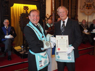 50th anniversary of Freemasonry