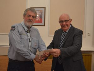 Sun Lodge Masonic Charities Association - Cheque Presentation to 5th Exmouth Sea Scouts