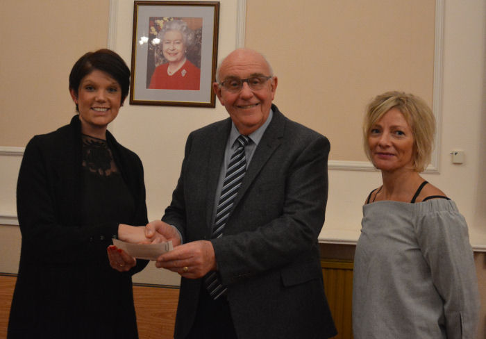 Sun Lodge Masonic Charities Association -Cheque Presentation to Pete's Dragons