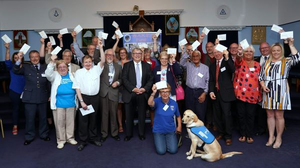 Devon Freemasons - WAKE charity presentation May 2019