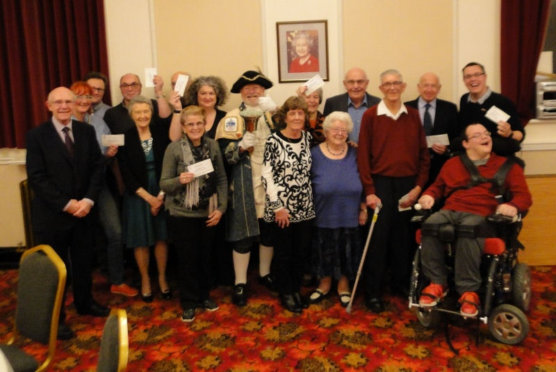 Sun Lodge No. 106 Charity Association November 2019