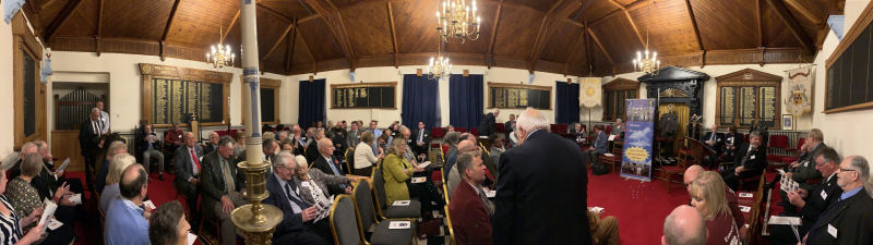 Exmouth Masonic Hall - WAKE fund disbursement November 2019
