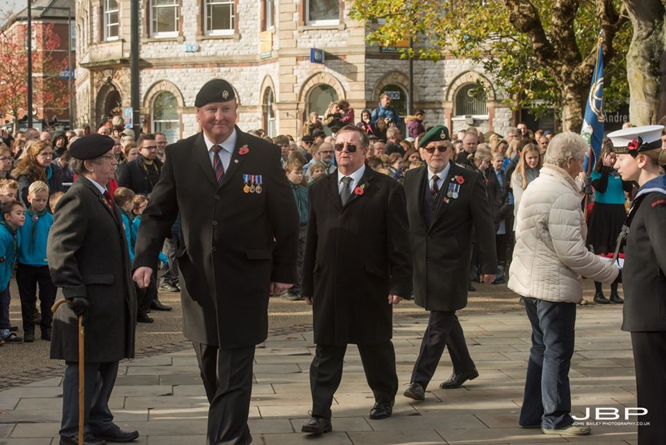 Exmouth Freemason Rememberance Day 2019