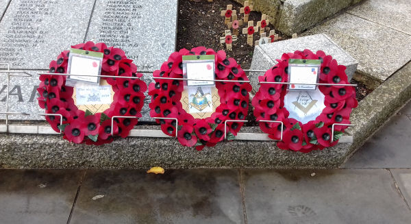 Exmouth Freemasons - Remembrance Day 2020